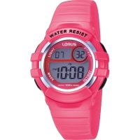 Kinder Lorus Wecker Chronograf Uhr