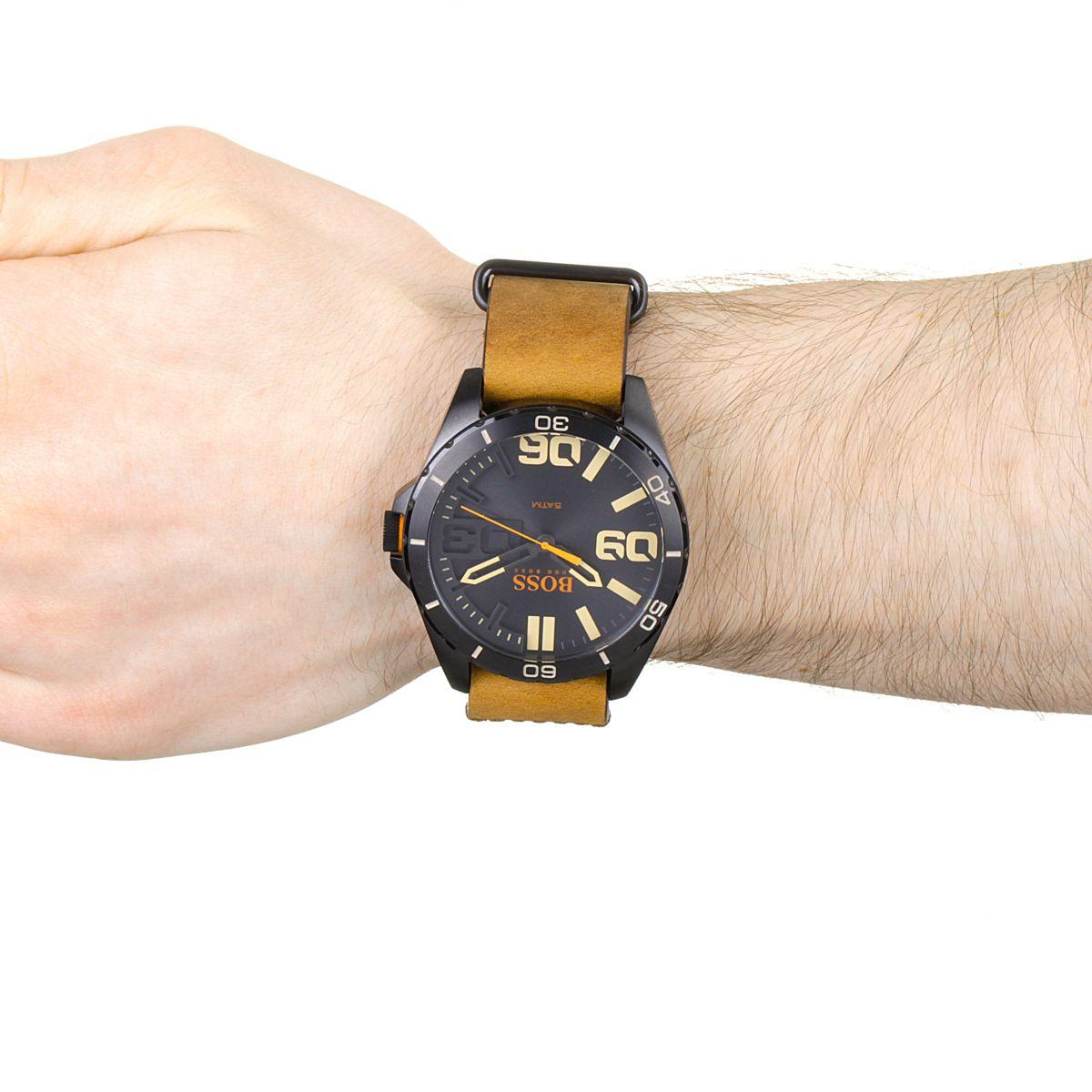 gents hugo boss orange berlin watch 1513316. Black Bedroom Furniture Sets. Home Design Ideas