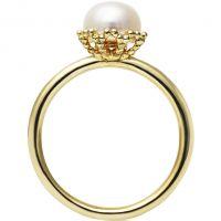 Ladies Jersey Pearl Sterling Silver Emma-Kate Freshwater Pearl Ring Size M EKR-GW-M