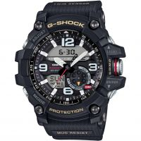 homme Casio Premium G-Shock Mudmaster Twin Sensor Compass Alarm Chronograph Watch GG-1000-1AER