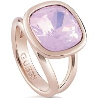 femme Guess Jewellery CRYSTAL SHADES RING SIZE N Watch UBR61021-54