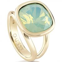 femme Guess Jewellery CRYSTAL SHADES RING SIZE N Watch UBR61020-54