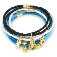 Gioielli da Donna Juicy Couture Jewellery Charmy Elastics Hair Elastics WJW755-457