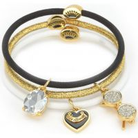 femme Juicy Couture Jewellery Charmy Elastics Hair Elastics Watch WJW750-711