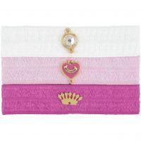 femme Juicy Couture Jewellery Flat Charmy Elastics Hair Elastics Watch WJW754-673