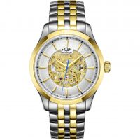 homme Rotary Mecanique Skeleton Watch GB05033/06