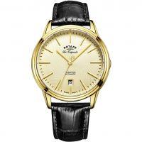 Herren Rotary Schweizer hergestellt Tradition Automatik Uhr