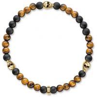 Thomas Sabo Jewellery SKULL GOLD BRACELET JEWEL