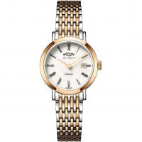 Ladies Rotary Swiss Made Windsor Quartz Watch