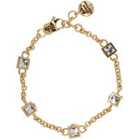 femme Juicy Couture Jewellery ICONIC CUBES BRACELET Watch WJW776-710