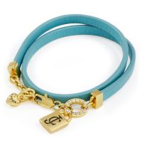 Ladies Juicy Couture PVD Gold plated JC PADLOCK BRACELET