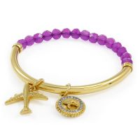 Ladies Juicy Couture PVD Gold plated JET SET BRACELET