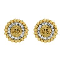 Juicy Couture Dames Jet Set Stud Earrings PVD verguld Goud WJW787-710