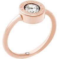 Damen Michael Kors PVD Rosa plating Ring Größe O