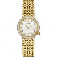 femme Bulova Diamond Gallery Watch 98W218