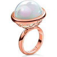 Ladies Folli Follie PVD rose plating Orbit Ring Size L.5 5045.6120