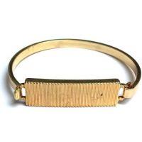 unisexe Icon Brand Jewellery Premium Engraved ID Bangle Watch P1043-BR-BRA