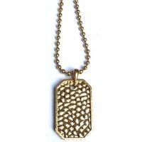 unisexe Icon Brand Jewellery Premium Nero Necklace Watch P1053-N-BRA