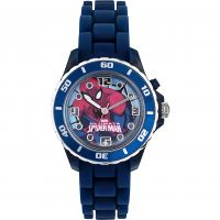 Disney Spiderman Kinderenhorloge Blauw SPD3415