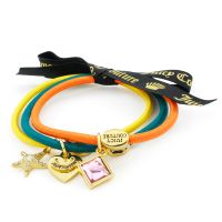 Juicy Couture Jewellery Set Of 3 Charmy Hair Elastics JEWEL