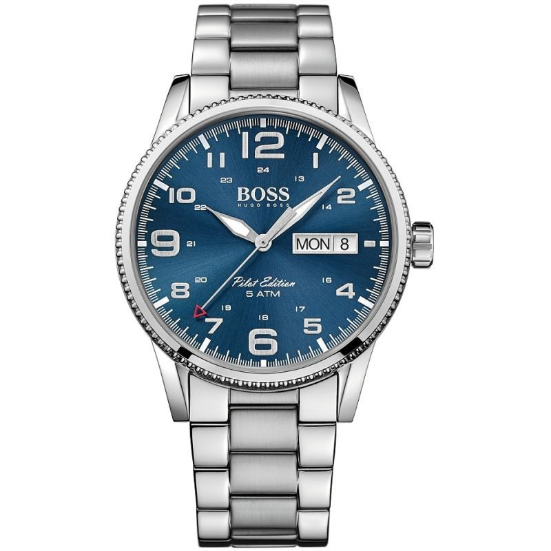 homme Hugo Boss Pilot Vintage Watch 1513329