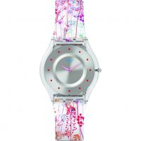 Ladies Swatch Skins -Jardin Fleuri Watch