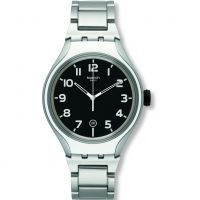 Unisex Swatch Irony X-Lite -Stripe Back Watch YES4011AG
