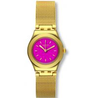 Ladies Swatch Irony Big -Twin Pink Watch