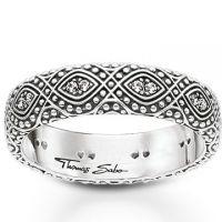 Thomas Sabo Jewellery Ethno Ornamentation Ring JEWEL
