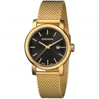 Herren Wenger Urban klassisch Vintage Uhr