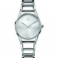 Damen Calvin Klein STATELY Watch K3G23126
