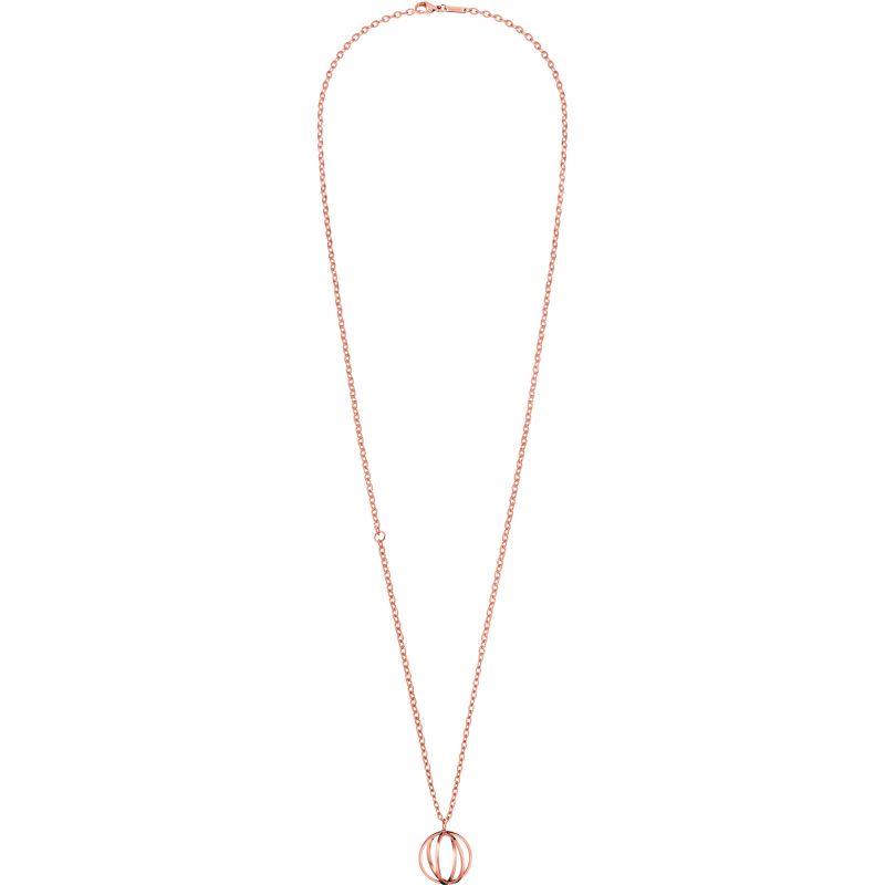 Ladies Calvin Klein PVD rose plating SHOW NECKLACE KJ4XPN100200