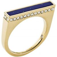 Ladies Michael Kors PVD Gold plated Size P Ring