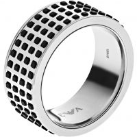 Mens Emporio Armani Stainless Steel Size U Off The Grid Ring EGS2118040512