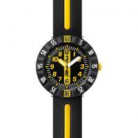 Kinder Flik Flak Yellow Ahead Watch FCSP033