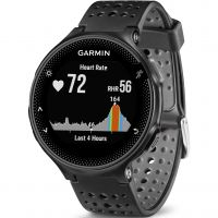 unisexe Garmin Forerunner 235 HR GPS Bluetooth Alarm Chronograph Watch 010-03717-55