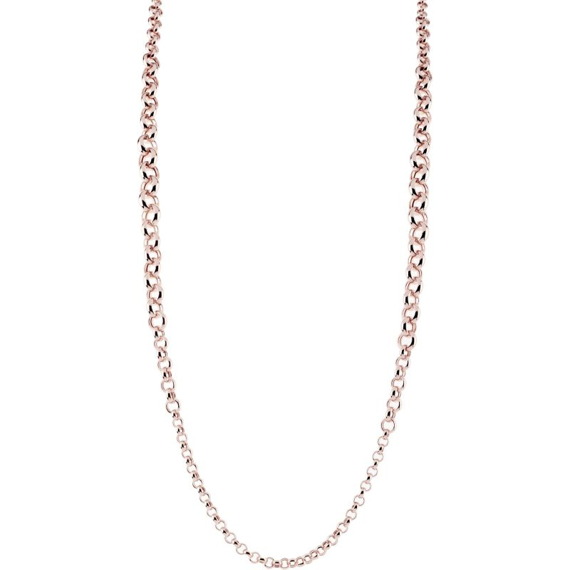 Ladies Bronzallure 18ct Gold Plated Bronze Necklace WSBZ00663.R