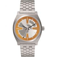 Nixon The Time Teller SW BB-8 Orange / Black Unisexklocka Silver A045SW-2605