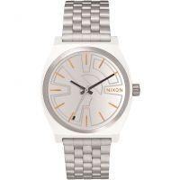 unisexe Nixon The Time Teller SW BB-8 Silver / Orange Watch A045SW-2604