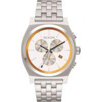Unisex Nixon The Time Teller Chrono SW BB-8 White / Eco-Drive Watch A972SW-2606