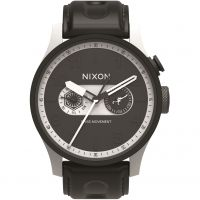 homme Nixon The Safari Deluxe Leather SW Stormtrooper White Watch A977SW-2243