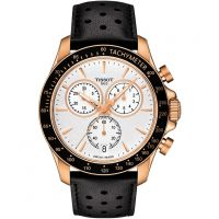 homme Tissot V8 Chronograph Watch T1064173603100