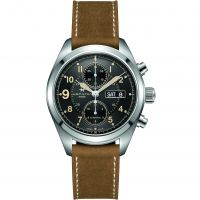 Hommes Hamilton Kaki Field 42mm Automatique Chronographe Montre