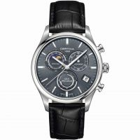 Certina DS-8 Precidrive Moonphase Herenchronograaf Zwart C0334501635100