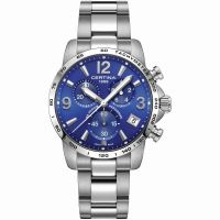 homme Certina DS Podium Precidrive Chronograph Watch C0344171104700