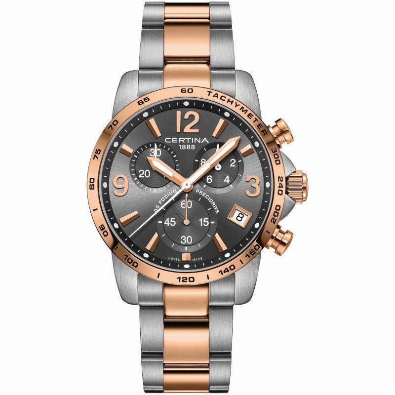Herren Certina DS Podium Precidrive Chronograph Watch C0344172208700