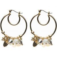 Ladies Nine West Gold Plated Earrings 60433181-906