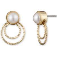 Damen Anne Klein vergoldet Ohrringe