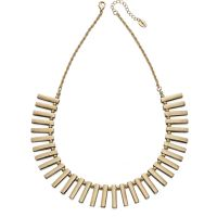 Fiorelli Dam Multi Bar Collar Necklace PVD guldpläterad N3943