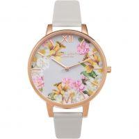 Ladies Olivia Burton Flower Show Floral Watch
